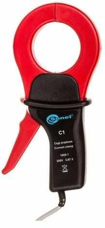 Cęgi pomiarowe C-1 wtyk DB9 (RS232) /MRU-100, MRU-101/ WACEGC1DB9