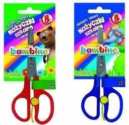 Nożyczki szkolne dla leworęcznych BAMBINO