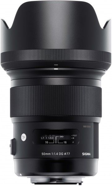 Sigma A 50mm F1.4 DG HSM - obiektyw stałoogniskowy do Canon EF Sigma A 50mm F1.4 DG HSM / Canon