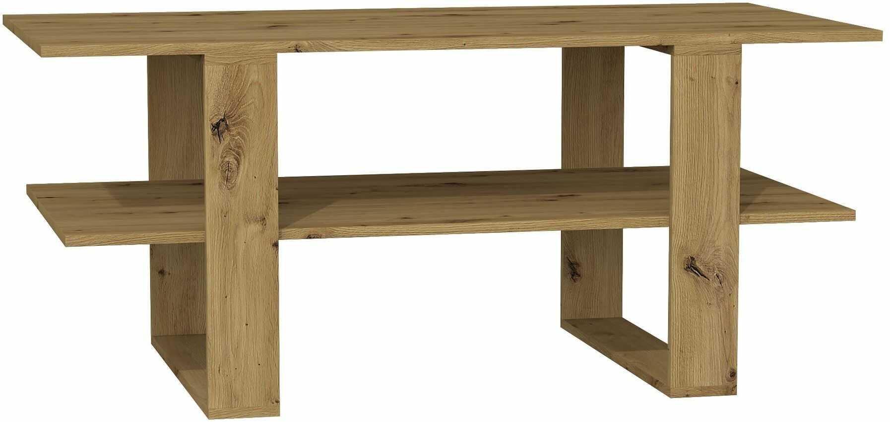 Industrialna ława loft - Tonsa - dąb artisan