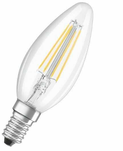 Żarówka LED E14 świeca 4W 2700K dekoracyjna OSRAM