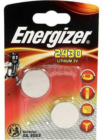 Bateria litowa 3V CR2430 ENERGIZER fi24x3mm 2szt.