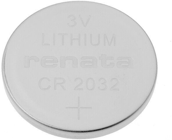 Bateria litowa 3V CR2032 RENATA fi20x3,2mm 225mAh
