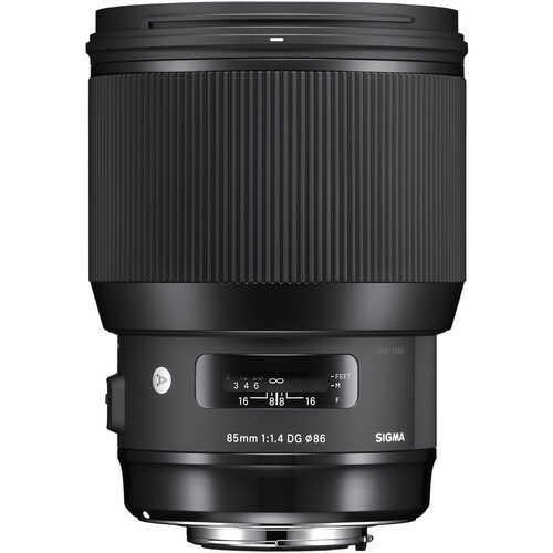 Sigma A 85mm F1.4 DG HSM - obiektyw stałoogniskowy do Nikon F Sigma A 85mm F1.4 DG HSM / Nikon