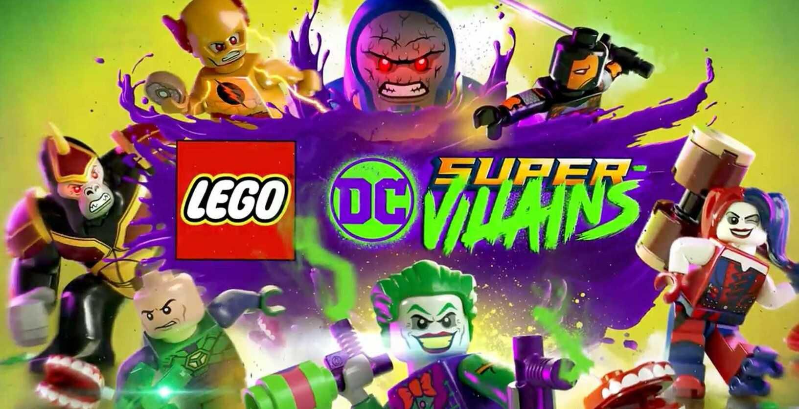 LEGO DC Super-Villains Złoczyńcy Season Pass (PC) klucz Steam Polski Dubbing