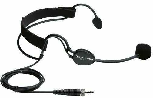 Sennheiser ME-3 II - mikrofon miniaturowy nagłowny do serii Evolution Lavalier ME3-2 do zestawów bezprzewodowych