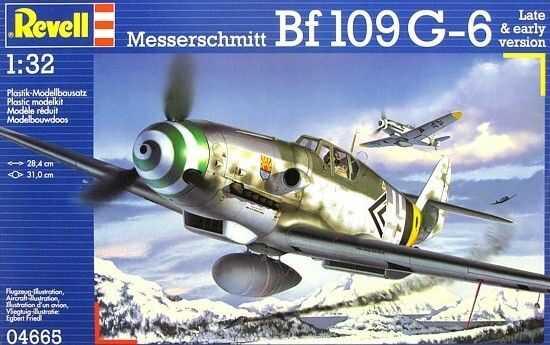 Messerschmitt Bf1 09 G-6 Late & early version