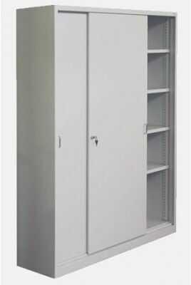 Metalowa szafa biurowa z drzwiami przesuwnymi Sbm 220 Rodo