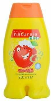 Avon Naturals Kids szampon z odżywką 2 w1 dla dzieci z zapachem Amazing Apple 250 ml