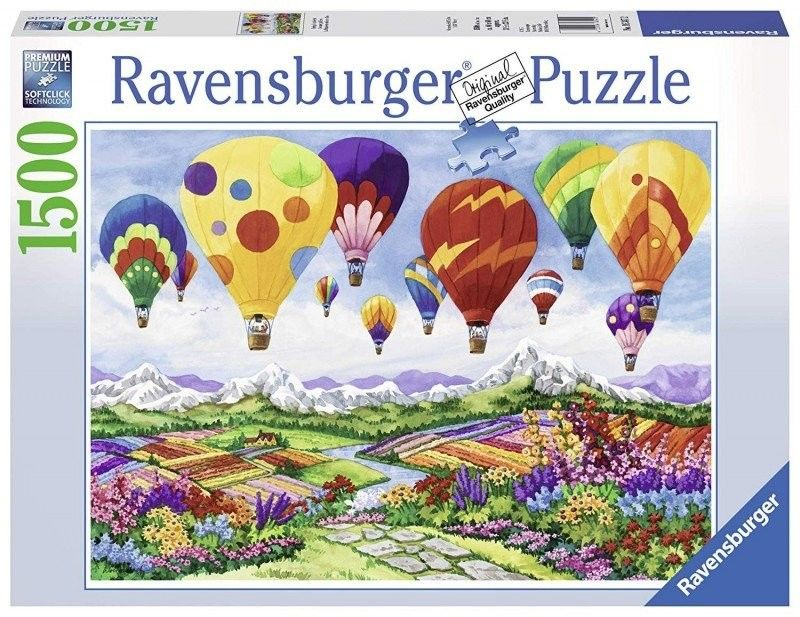 Puzzle Ravensburger 1500 - Wiosna w powietrzu, Spring is in the Air