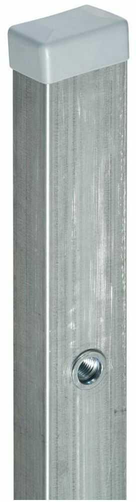 Słupek furtkowy 6 x 4 x 200 cm ocynk STARK POLBRAM