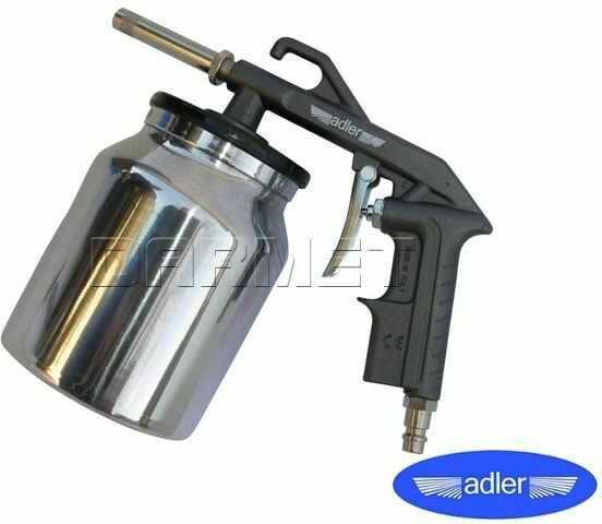 Pistolet pneumatyczny do piaskowania ze zbiornikiem - ADLER (0206.1)