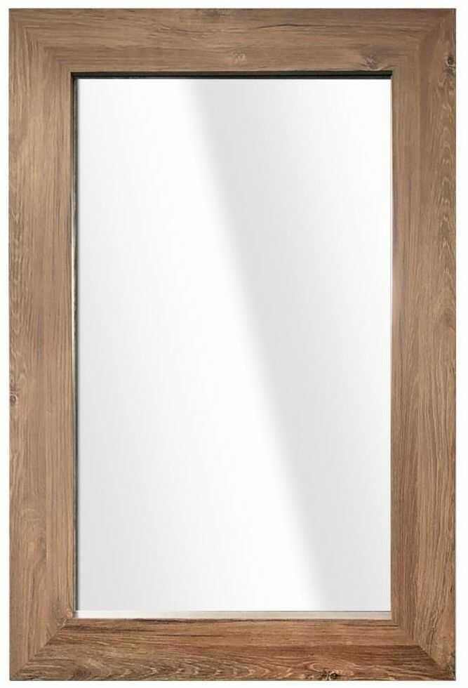 Lustro JYVASKYLA brązowe 60 x 86 cm
