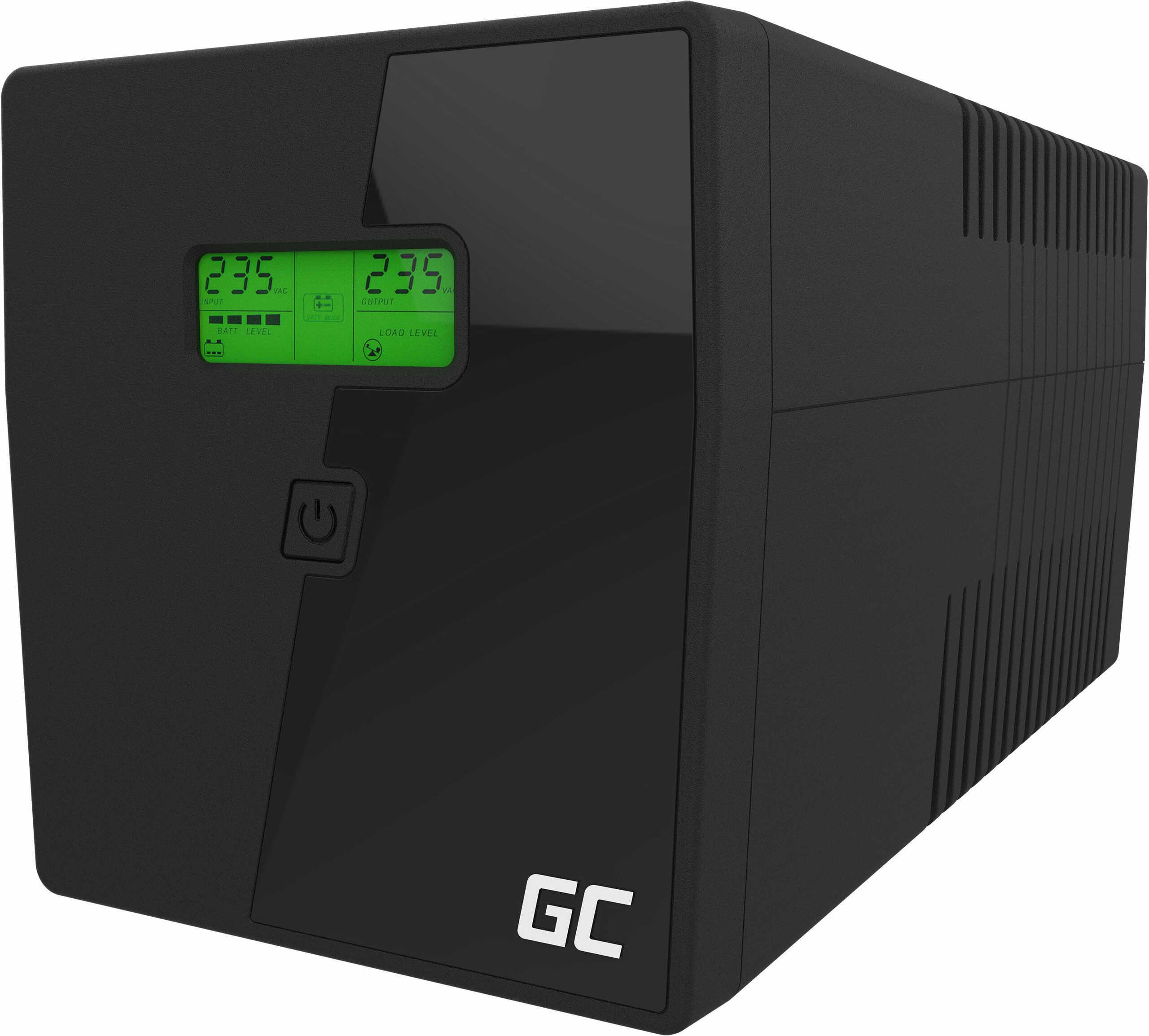 Zasilacz awaryjny UPS Green Cell 1000VA 600W Power Proof
