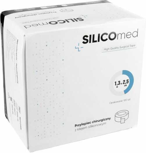 Przylepiec chirurgiczny z klejem silikonowym SILICOmed