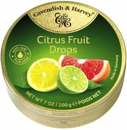 Landrynki Cavendish & Harvey Owoce cytrusowe 200g
