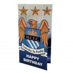 Manchester City - kartka urodzinowa