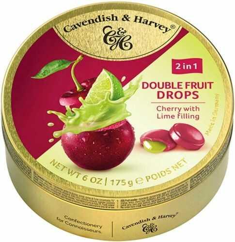 Landrynki Cavendish & Harvey Wiśnia i limonka 175g