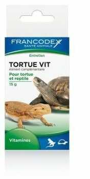 FRANCODEX Witaminy dla żółwi i gadów 15 g