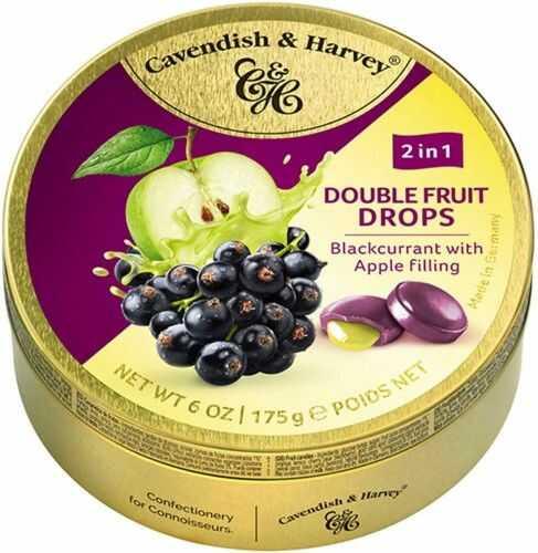 Landrynki Cavendish & Harvey Czarna porzeczka i jabłko 175g