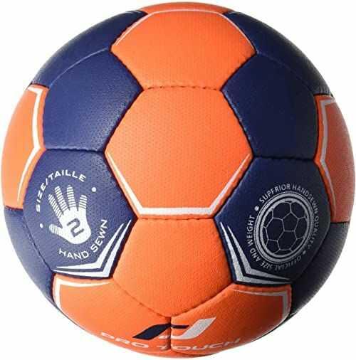 Pro Touch Piłka ręczna Super Grip, pomarańczowa/niebieska/biała, 4