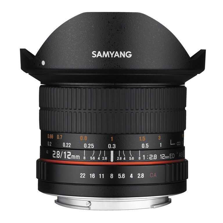 Obiektyw Samyang 12mm F2,8 AS NCS Fish-eye Sony A