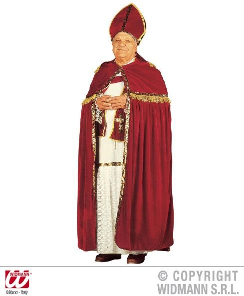 Strój świętego Mikołaja biskupa (strój prawdziwego Mikołaja) - model 6