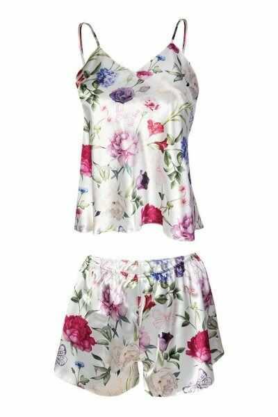 Dkaren flowers piżama damska