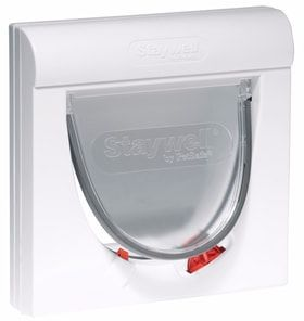 Drzwiczki Staywell 932 białe, magnetyczne otwieranie (S)