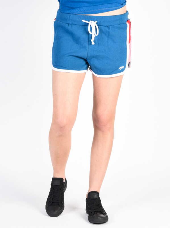 Vans INVERCE BLUE SAPPHIRE panie sweat shorts - S