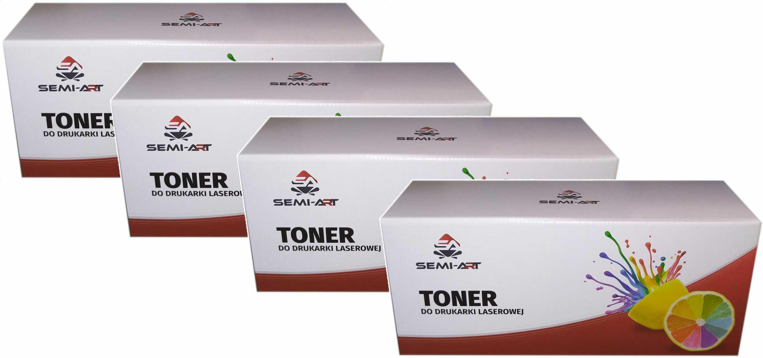 Zgodny komplet tonerów do Brother TN-247 TN247 (L3210, L3210CW, L3230, L3230CDW, L3270, L3270CDW, L3280CDW, L3510)