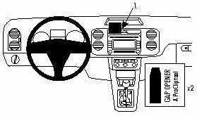 ProClip do Volkswagen Tiguan 08-16