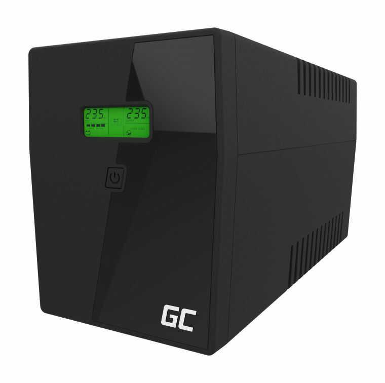 Zasilacz awaryjny UPS Green Cell 1500VA 900W Power Proof