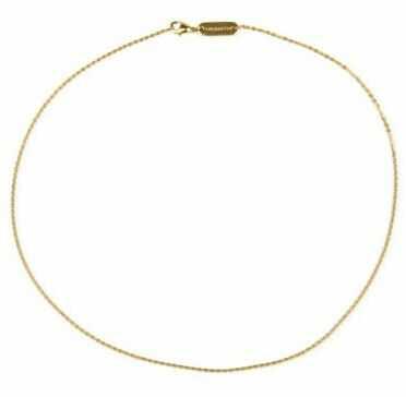 Łańcuszek magnetyczny złocony ze stali szlachetnej 558-9, magnesy neodymowe