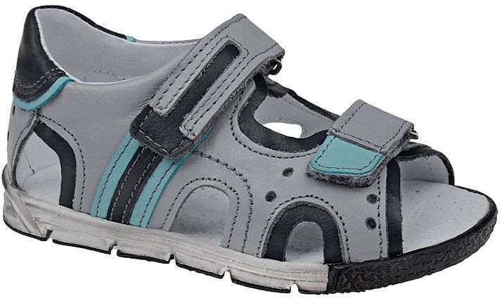 Sandałki dla chłopca KORNECKI 3726 Popielate Sandały