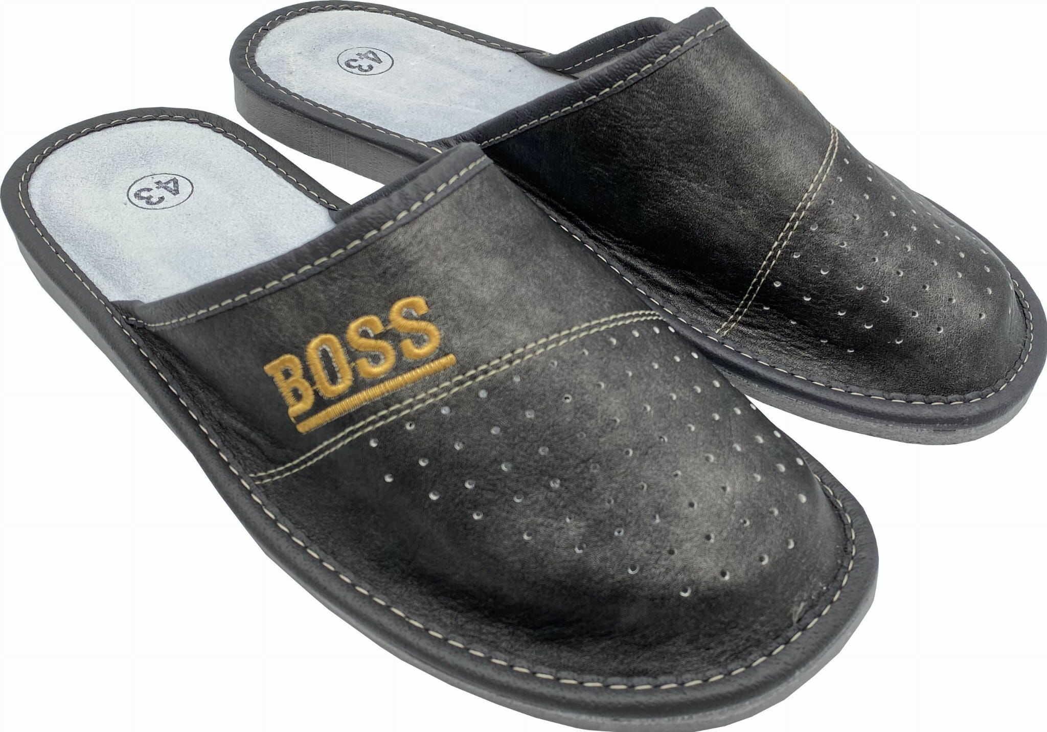 Kapcie męskie domowe slippers