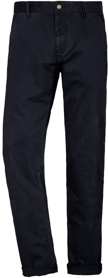 ODESSA-REDPOINT Duże Spodnie Chino Granatowe