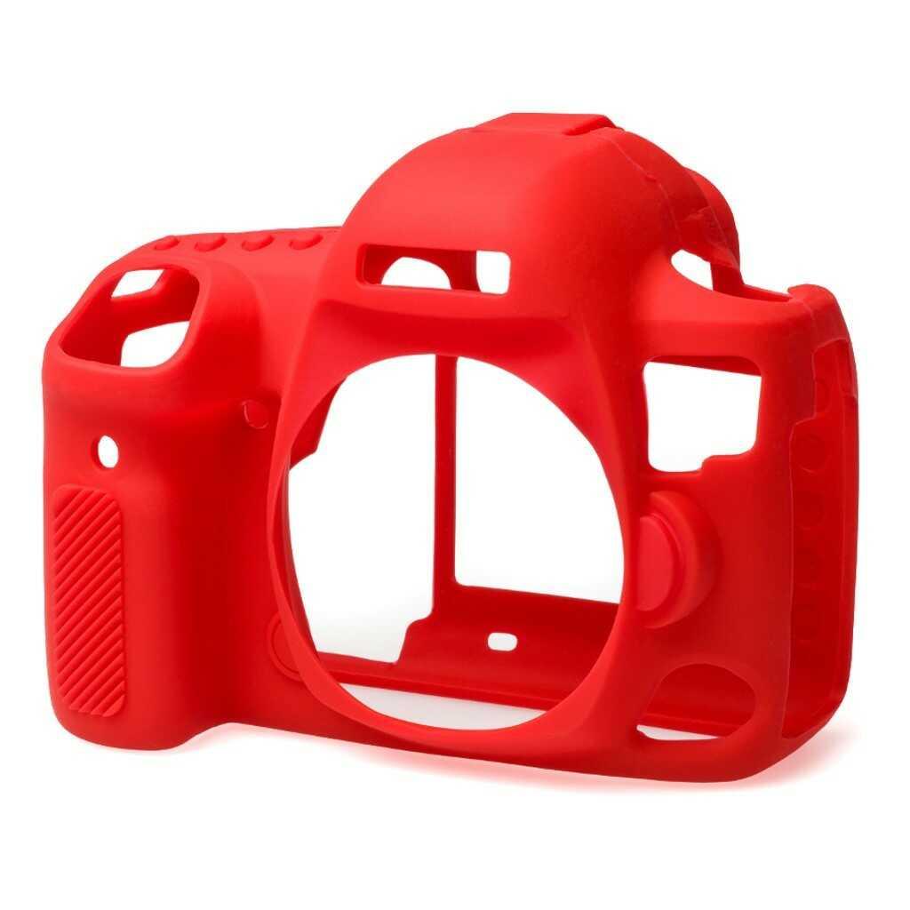 Osłona silikonowa easyCover do aparatów Canon EOS 5D Mark IV czerwona