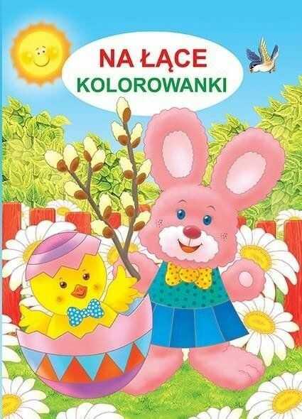 Na łące Kolorowanki - Jarosław Żukowski