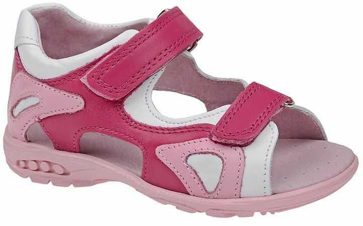 Sandałki dla dziewczynki KORNECKI 3441 Różowe Sandały