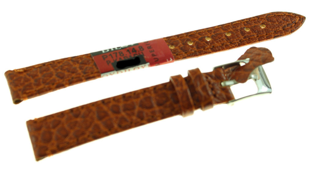 Skórzany pasek do zegarka 14 mm Diloy P178.14.8