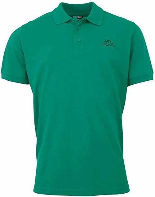 Kappa Peleot męska koszulka polo zielony zielony (green pepper) 3XL