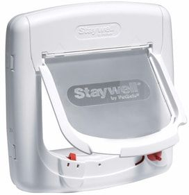 Drzwiczki Staywell 400 białe z magnesem (S)
