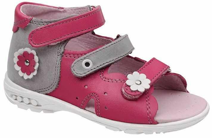 Sandałki dla dziewczynki KORNECKI 3719 Różowe Sandały