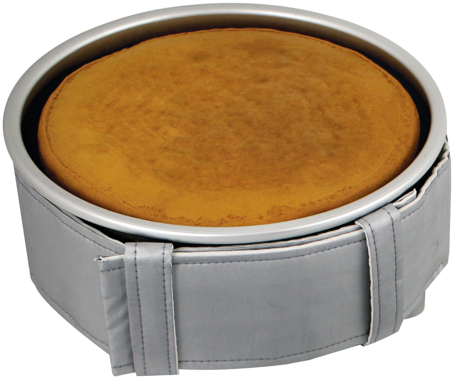 PME Poziomy pas do pieczenia na 5-centymetrowe okrągłe i kwadratowe patelnie