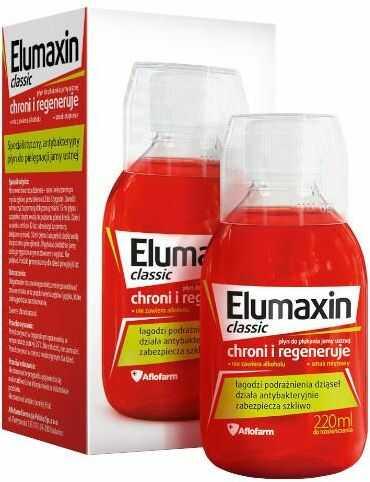 Elumaxin Classic płyn do płukania jamy ustnej 220 ml