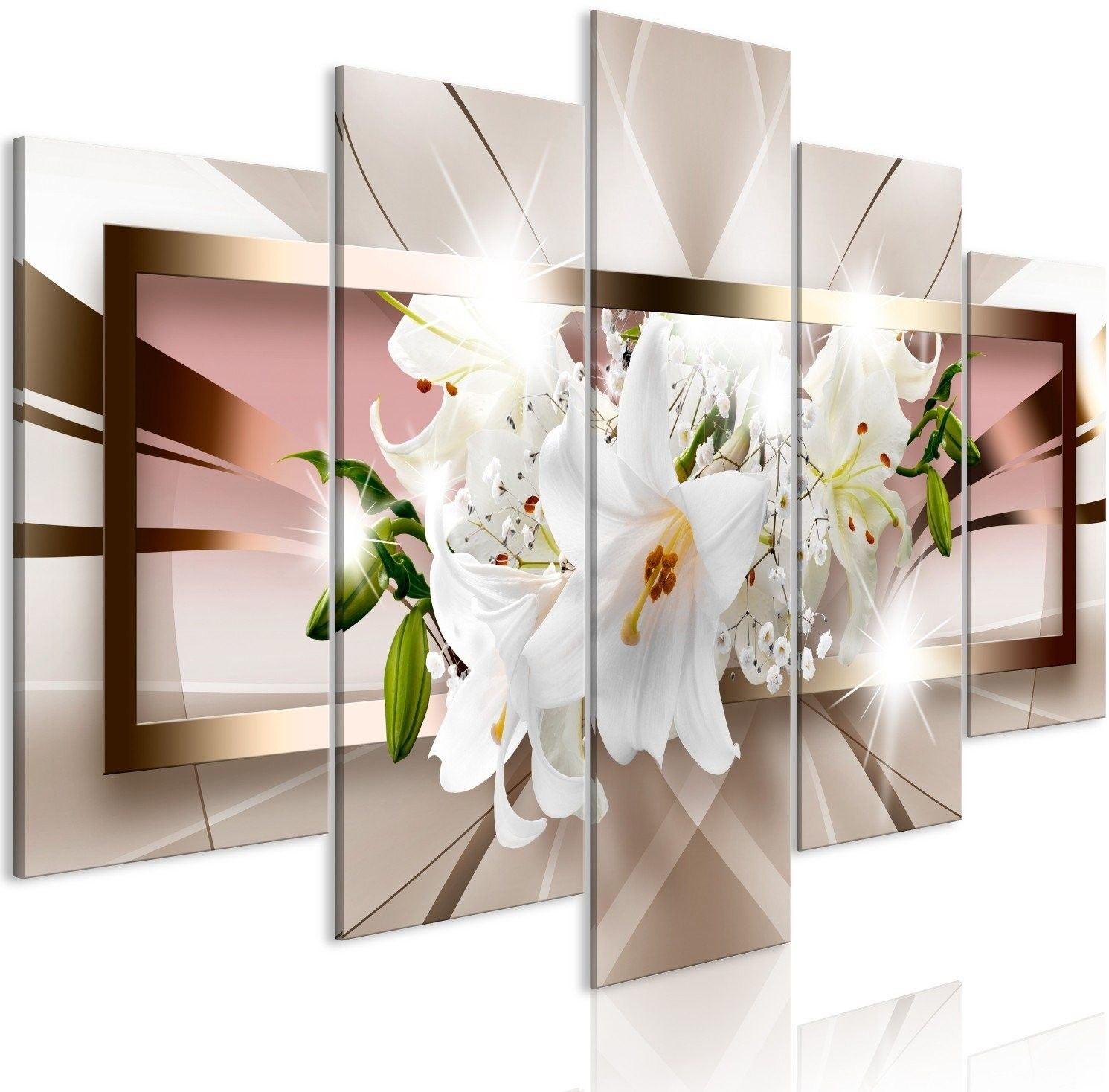 Obraz - wyjście z zaświatów (5-częściowy) szeroki