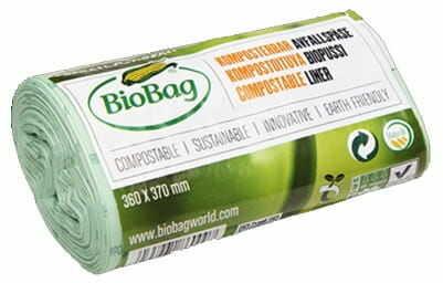 Worki na odpady bio i zmieszane 6 l 30 szt (kompostowalne i biodegradowalne) - biobag