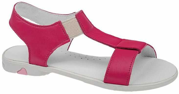 Sandałki dla dziewczynki KORNECKI 3737 Fuksja Różowe Sandały