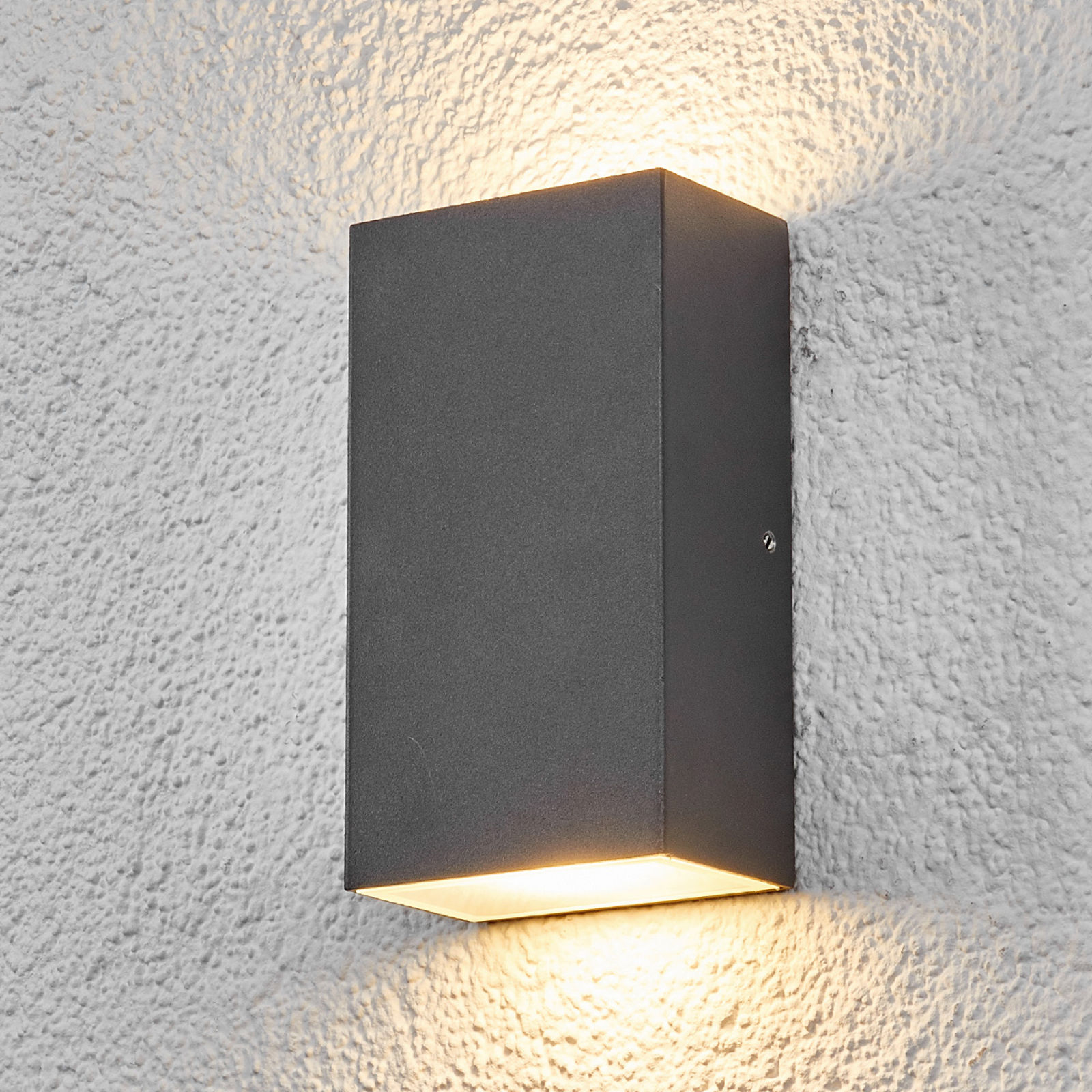 Prostokątna lampa zewnętrzna LED WEERD